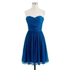 Tall Arabelle dress in silk chiffon/