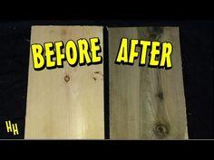 Aging Wood: Vinegar & Steel Wool Solution- Simple and Amazing! Steel Wool Vinegar Stain, Wood Box Decor, Wood Boxes, Weathered Wood, Barn Wood, Wood Floor Stain Colors, Decoupage, Furniture Logo, Plants