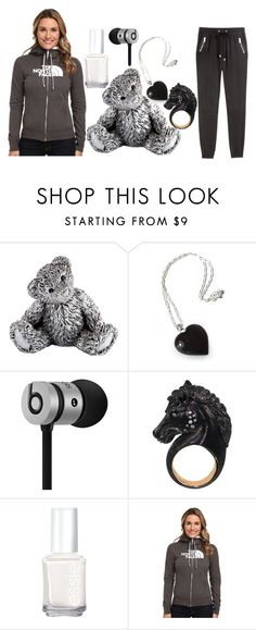 """""""Lavish"""" by marissarednose ❤ liked on Polyvore featuring Royal Selangor, NOVICA, Beats by Dr. Dre, Essie, The North Face and H&M"""