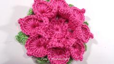 3D crochet flower No 12