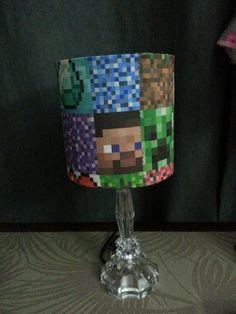 Creeper Lamp Shade Minecraft Bedroom Pinterest