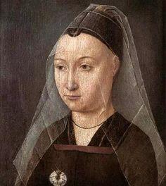 Portret van vrouw met anjer (Antwerpen, Mayer van der Bergh Museum).