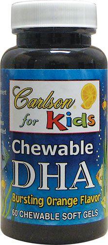 Kids Chewable DHA - Orange