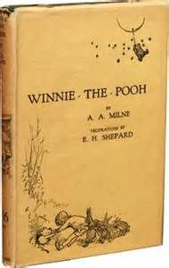 On this day, October 14, 1926: Winnie-the-Pooh was published for the first time.  Disney generates revenue from videos, toys, and other merchandise featuring Pooh bear. Pooh stuffed bears range in size from miniature to Beanies and human-sized. Estimates suggest that sales of Pooh merchandise generate as much revenue as Mickey Mouse, Minnie Mouse, Donald Duck, Goofy, and Pluto combined.