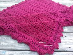 Berry Ice Cream Afghan Pattern