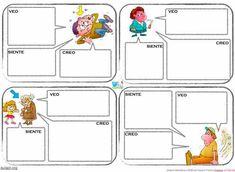 He preparado una ficha para trabajar las emociones. Aquí os las dejo.VEO-SIENTE-CREO Related Posts via CategoriesRUTINA: SE SIENTE-PORQUE-YO ME SENTIRÍAAprendizaje y desarrollo de la teoría de la mente en la … Spanish Teacher, Classroom Fun, Aspergers, My Tea, Emotional Intelligence, Doodles, Teaching, Comics, Blog