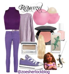 Disney inspired outfits | Repunzel  perfect for teens