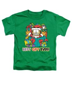 "Checkout our #LicensedGear products FREE SHIPPING + 10% OFF Coupon Code ""Official"" Garfield / Best Gift Ever-short Sleeve Toddler Tee-kelly Green-sm(2t) - Garfield / Best Gift Ever-short Sleeve Toddler Tee-kelly Green-sm(2t) - Price: $29.99. Buy now at https://officiallylicensedgear.com/garfield-best-gift-ever-short-sleeve-toddler-tee-kelly-green-sm-2t"
