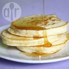 Panqueca americana @ allrecipes.com.br