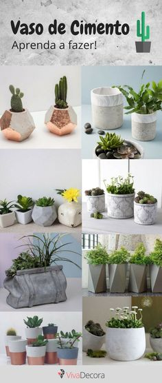 Discover recipes, home ideas, style inspiration and other ideas to try. Cement Garden, Concrete Cement, Concrete Design, Concrete Planters, Diy Planters, Concrete Crafts, Concrete Projects, Stone Art Painting, Beton Diy