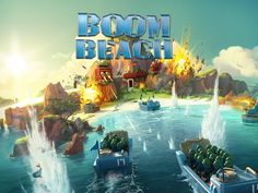 One of best games! Boom Beach Cheat Unlimited Coins, Diamonds and Wood !