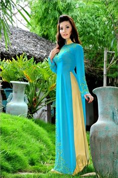 TRADITIONAL LONG DRESS - TT077 Enjoy your weekend and check out some dress :)