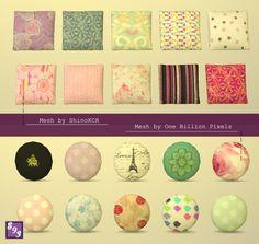 The Stories Sims Tell: Cute Pillows Set