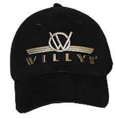 All Things Jeep - Jeep Willys Logo Baseball Hat fee2581049a
