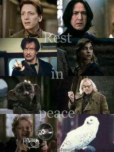 J.K. Rowling se disculpa por la muerte de Fred Weasley