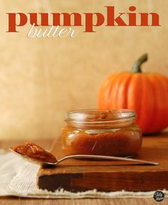Pumpkin Butter | 10 Awesome Pumpkin Dessert Recipes