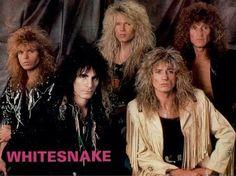 Images of Band Whitesnake - Bing images Heavy Metal, Heavy Rock, Hair Metal Bands, 80s Hair Bands, Whitesnake Band, Adrian Vandenberg, 80s Rock Bands, Musical Hair, David Coverdale