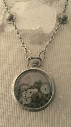 Necklace from an old watch