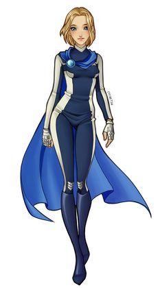 Sky Winx female version by V-Chinetsu on DeviantArt Winx Club, Superhero Costumes Female, Villain Costumes, Super Hero Outfits, Super Hero Costumes, Female Character Design, Character Art, Fantasy Characters, Female Characters