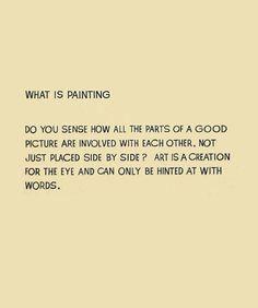 vive John Baldessari  what is painting