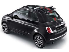 Fiat, black on black. And it is by Gucci...perfect.