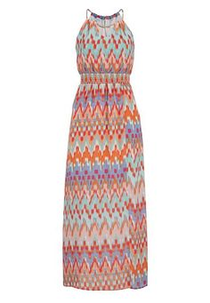 multicolor chiffon smocked waist maxi dress (original price, $44) available at #Maurices