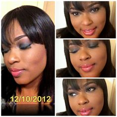 Marykay smokey look using all marykay cosmetic
