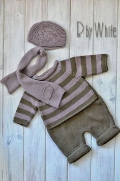 knitted baby cardigan with poc Knitting For Kids, Baby Knitting Patterns, Baby Patterns, Cardigan Bebe, Knitted Baby Cardigan, Baby Overall, Baby Sweaters, Baby Boy Outfits, Clothes
