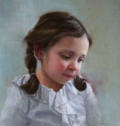 Leah by Tracy Ference Pastel ~ 13 x 11