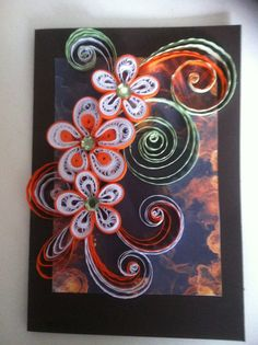 Handmade Greeting Card + Envelo-box - Mother's Day,Happy Birthday,Thank You - Any Occasion - Quilling Art on Etsy, $7.30