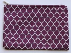 Quatrefoil Pencil Pouch
