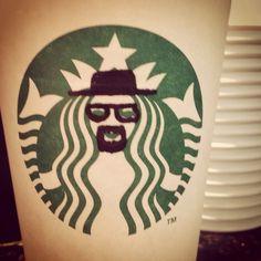Next time I go to Starbucks with Rett, I'm manipulating the Starbucks mermaid-thing like this.