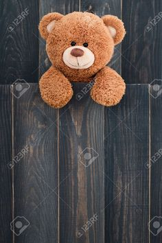 Cute teddy bear with old wood background Flower Background Wallpaper, Flower Phone Wallpaper, Pink Wallpaper Iphone, Cute Wallpaper Backgrounds, Pretty Wallpapers, Wood Background, Teddy Bear Images, Teddy Bear Pictures, Funny Phone Wallpaper