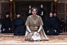 Alexander Siddig in Holy Warriors at The Globe.