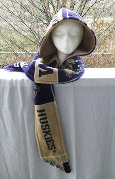 University of Washington Huskie Scoodie by SafirHime on Etsy, $20.00
