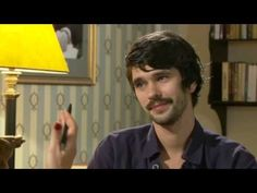 """""""Peter and Alice"""" Interview with Ben Whishaw.I feel priviledged to have seen this performance. He is a wonderful,gentle man."""