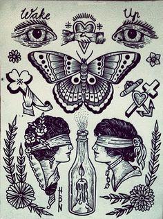 """Résultat de recherche d'images pour """"large traditional back tattoo"""""""
