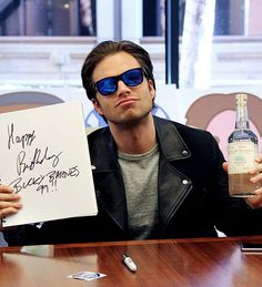 Sebastian Stan on how Bucky Barnes would celebrate his 99th birthday :)