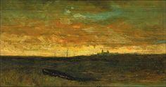 Sunset Scene, Edward Mitchell Bannister