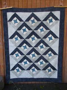 Union a patchwork star quilt set on point easy man quilt
