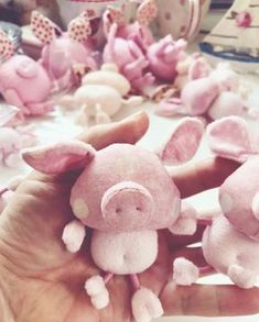 Sewing Projects for Kids - Why It's Important and How To Do It? Pig Crafts, Diy And Crafts, Sewing Toys, Sewing Crafts, Pig Baby Shower, Fox Toys, Sewing Stuffed Animals, Baby Pigs, Sewing Projects For Kids