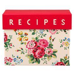 Spray Flowers Recipe Card Holder | Billie X Spray Flowers | CathKidston