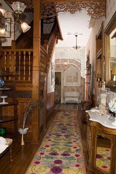 Front Hall   1899 Victorian: Queen Anne  Historic Downtown Brenham Area  Brenham, Texas