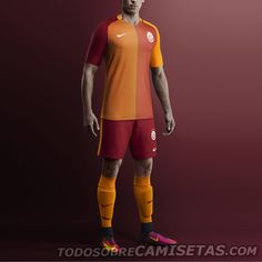 Galatasaray Nike 2016-17 Kits
