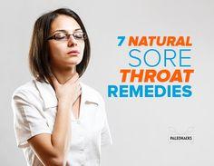 7 Natural Sore Throat Remedies