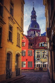 Old Riga by Carol Japp Kenya Travel, Riga Latvia, City Aesthetic, Art Nouveau Architecture, Photo Essay, Eastern Europe, Rue, Old Town, Travel Pictures