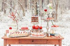 Fiesta de Invierno Winter sweet table
