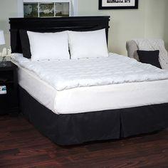 Lavish Home Down-Alternative Bedding Topper at 54% Savings off Retail!