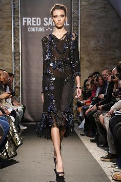 Fred Sathal Fall Couture 2014
