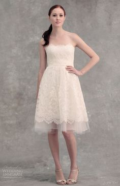 http://www.weddinginspirasi.com/2012/02/17/jenny-yoo-wedding-dresses-2012/2/ :  jenny yoo bridal 2012 libby #wedding dress   #weddingdress #weddings